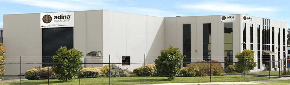 The Adina Beauty Group warehouse and distribution center